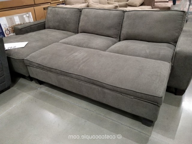 Current Sofas With Chaise And Ottoman Intended For Fabric Chaise Sofa With Storage Ottoman (View 4 of 10)