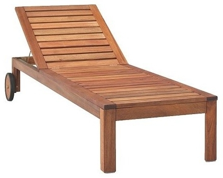 Current Stylish Wooden Chaise Lounge Chair Chaise Lounge Chair Plans Free Intended For Wood Chaise Lounge Chairs (View 5 of 15)