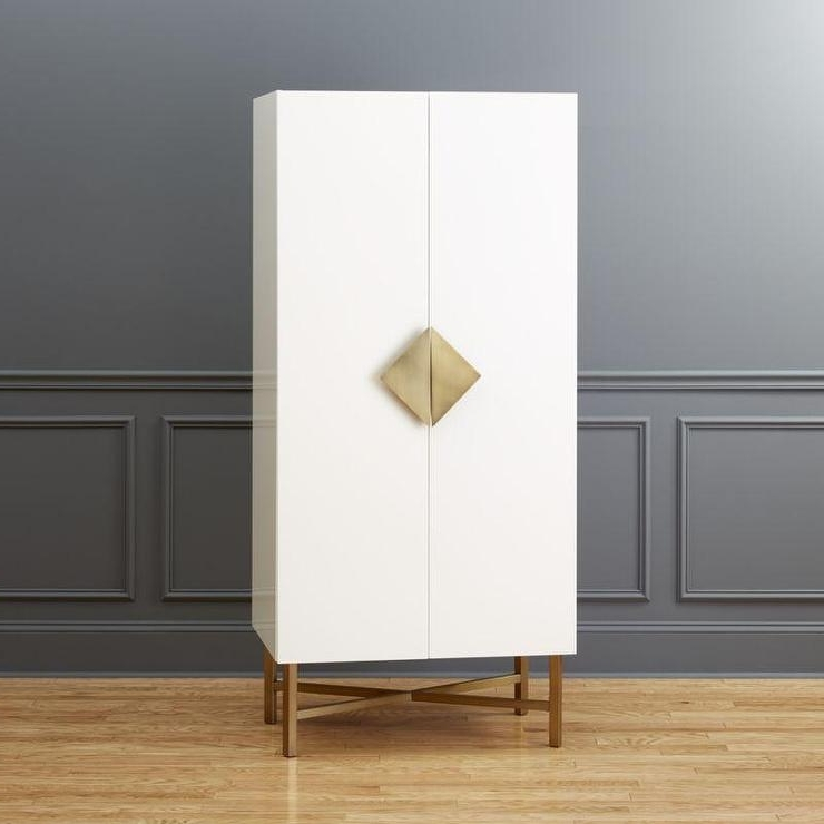 Current Tall White Gloss Wardrobe Pertaining To Tall White Gloss Wardrobes (View 6 of 15)