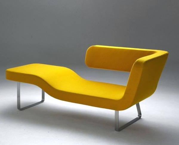 Current Yellow Chaise Lounge Chairs Intended For Yellow Chaise New Suite Chaise Yellow Yellow Chaise Lounge Chairs (View 4 of 15)