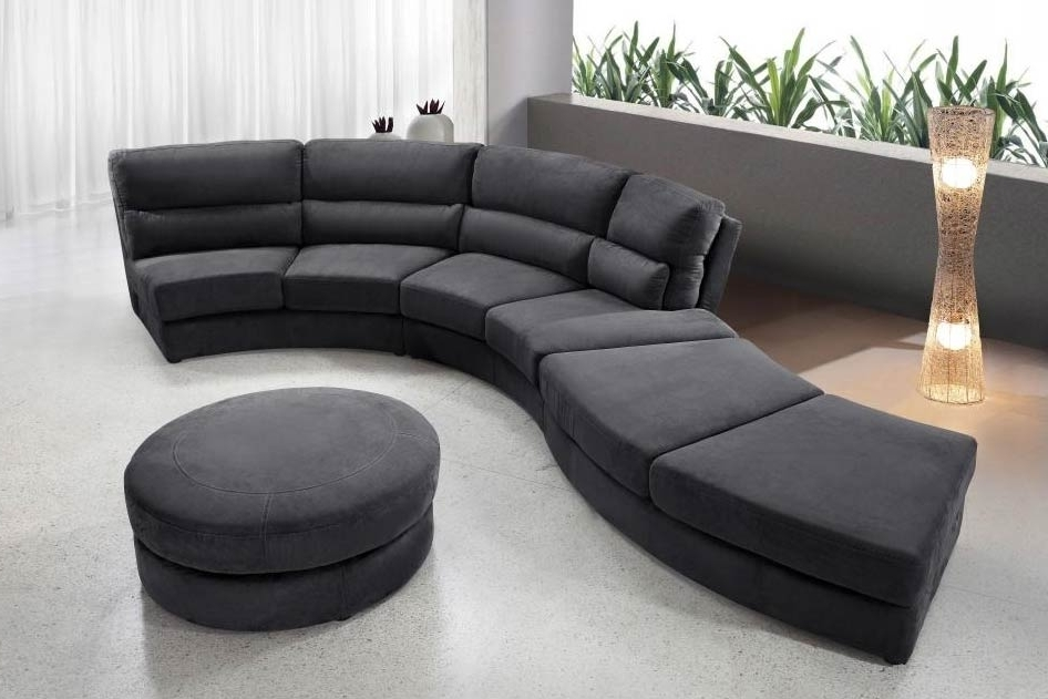 Curved Sofa Sectional Modern Sectional Sofa Design Awesome Round Regarding Recent Round Sectional Sofas (View 8 of 10)