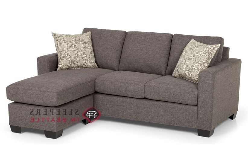 Customize And Personalize 702 Chaise Sectional Fabric Sofa Regarding Famous Sleeper Sofa Chaises (View 3 of 15)