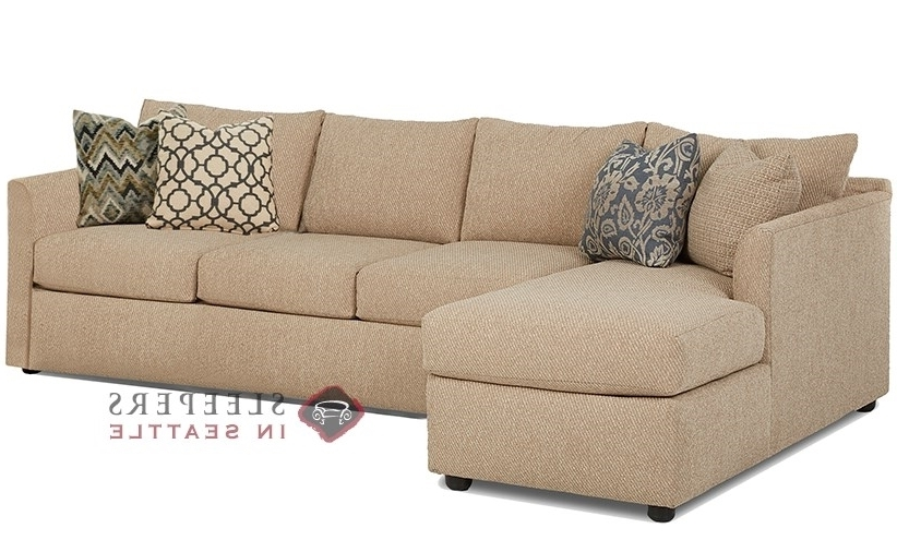 Customize And Personalize Aventura Chaise Sectional Fabric Sofa Throughout Most Recently Released Chaise Sleeper Sofas (View 6 of 15)
