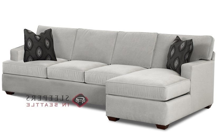 Customize And Personalize Lincoln Chaise Sectional Fabric Sofa With Fashionable Sleeper Chaises (View 3 of 15)