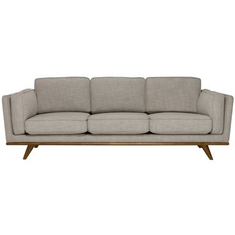 Dahlia 3 Seat Sofa Austria Shell – Also Comes In Light Blue, Navy For Current Mid Range Sofas (View 2 of 10)