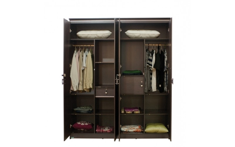 Damro In Cheap 4 Door Wardrobes (View 8 of 15)