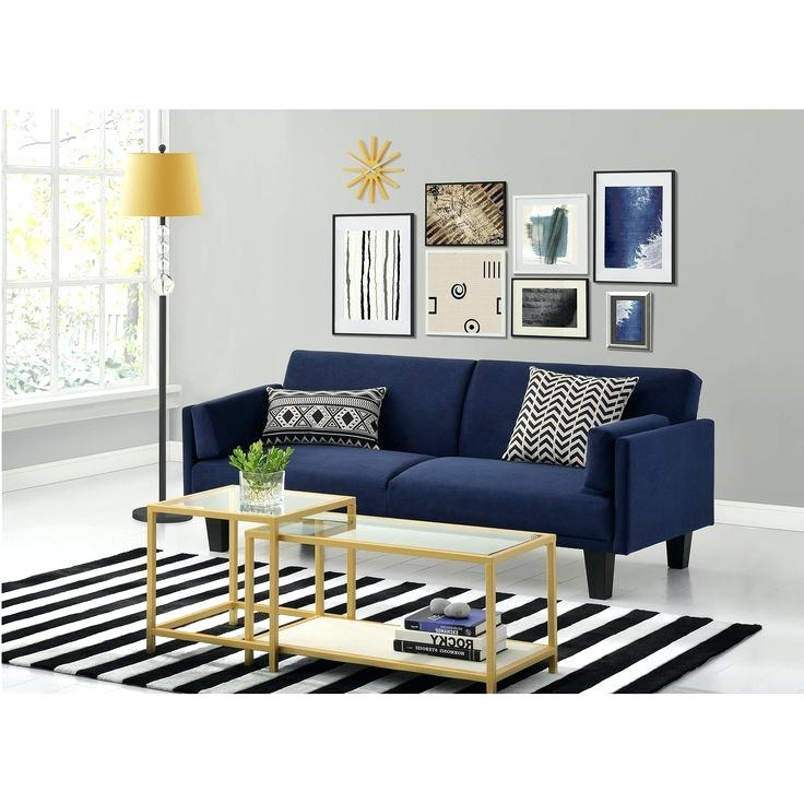 Dark Blue Sofa – Wojcicki For 2018 Dark Blue Sofas (View 1 of 10)