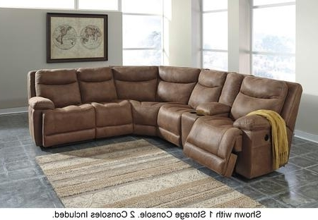 Dayton Ohio Sectional Sofas For Trendy Milo Italia Mi680662571977195758Sadd Alanna Series Reclining Faux (View 3 of 10)
