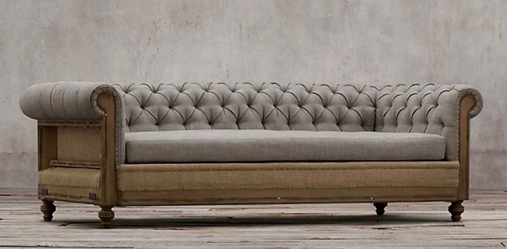 Deconstructed Chesterfield Sofa For Well Liked Chesterfield Sofas (View 5 of 10)