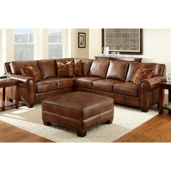 Decorating With Regard To Favorite Leather Sectionals With Ottoman (View 1 of 10)