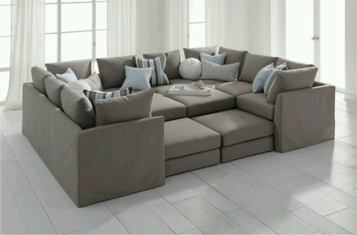 Deep Huge Couch For Family Room (Gallery 1 of 10)