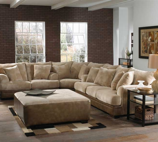 Deep Seating Sectional Sofas Inside Well Known Sectional Sofa Design: Deep Seated Sectional Sofa Small Space (View 2 of 10)