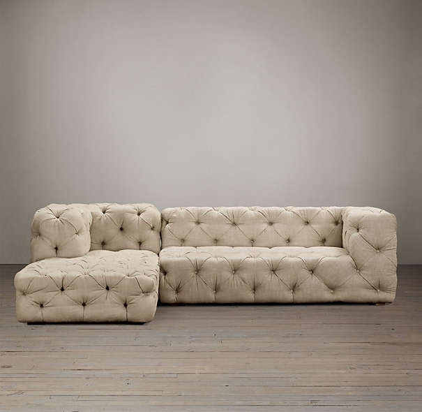 Designs Ideas And Decors Throughout Tufted Sectional Sofas (View 2 of 10)
