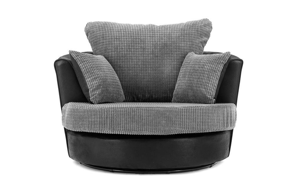 Dino Swivel Chair Intended For Favorite Swivel Sofa Chairs (View 4 of 10)