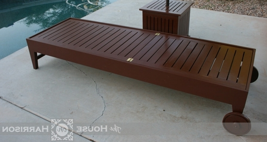 Diy Outdoor Chaise Lounge – Diy Projects (View 5 of 15)