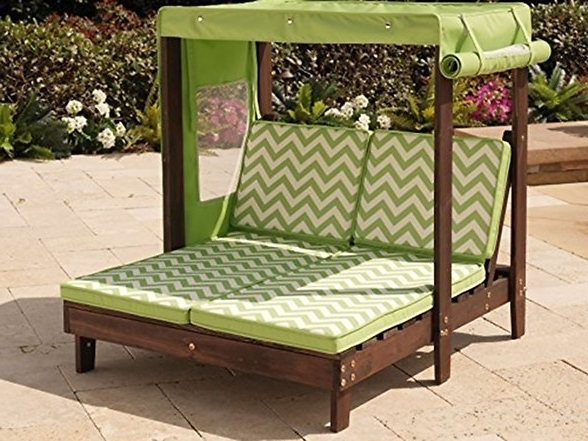 Diy Throughout Chaise Lounge Chair With Canopy (View 4 of 15)
