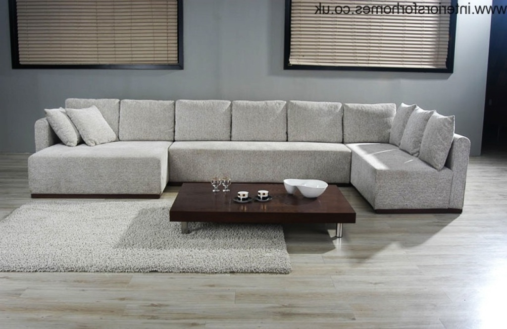 Double Chaise Sectional Sofa (View 2 of 10)
