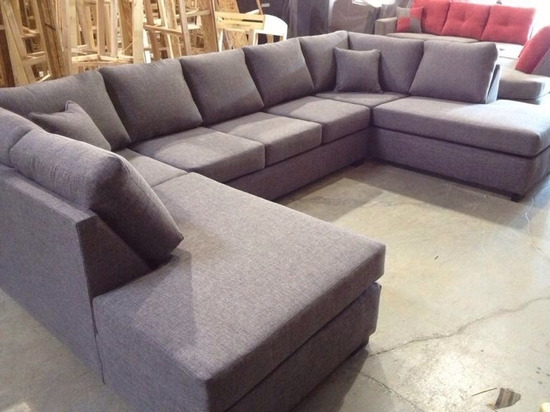 Double Chaise Sectionals Intended For Popular Double Chaise U Shape Sectional – $1500. 84 Inches144 Inches (Gallery 3 of 15)