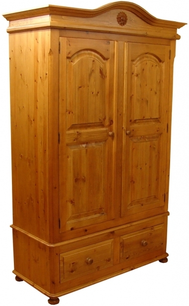 Double Pine Wardrobes For Current The Amazing Simple Pine Wardrobes – Goodworksfurniture (View 5 of 15)