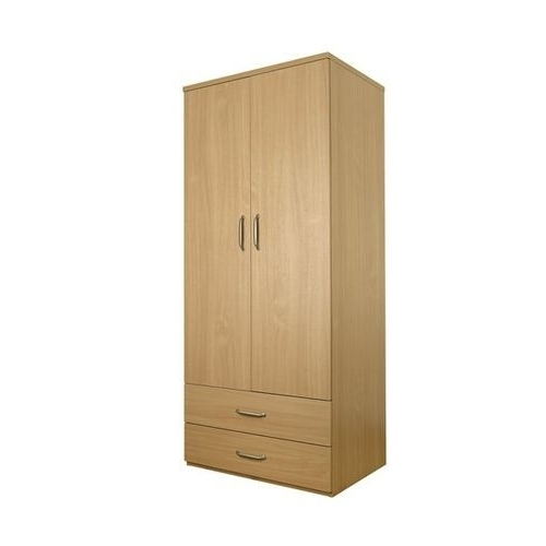 Double Rail Wardrobes With Drawers In Well Known Classic Double Wardrobe With Drawers (View 4 of 15)