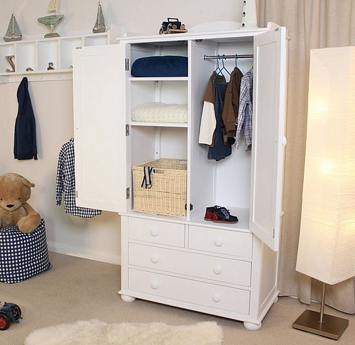Double Rail Wardrobes With Drawers Pertaining To Best And Newest Children's Wardrobes – Junior Rooms (Gallery 4 of 15)