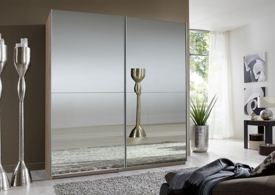 Double Wardrobes For Recent Sliding Double Mirror Wardrobe (View 6 of 15)