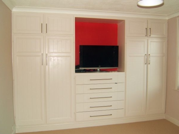 Double Wardrobes With Most Up To Date Double Wardrobes – Crs Carpentry Services, Swindon (Gallery 3 of 15)