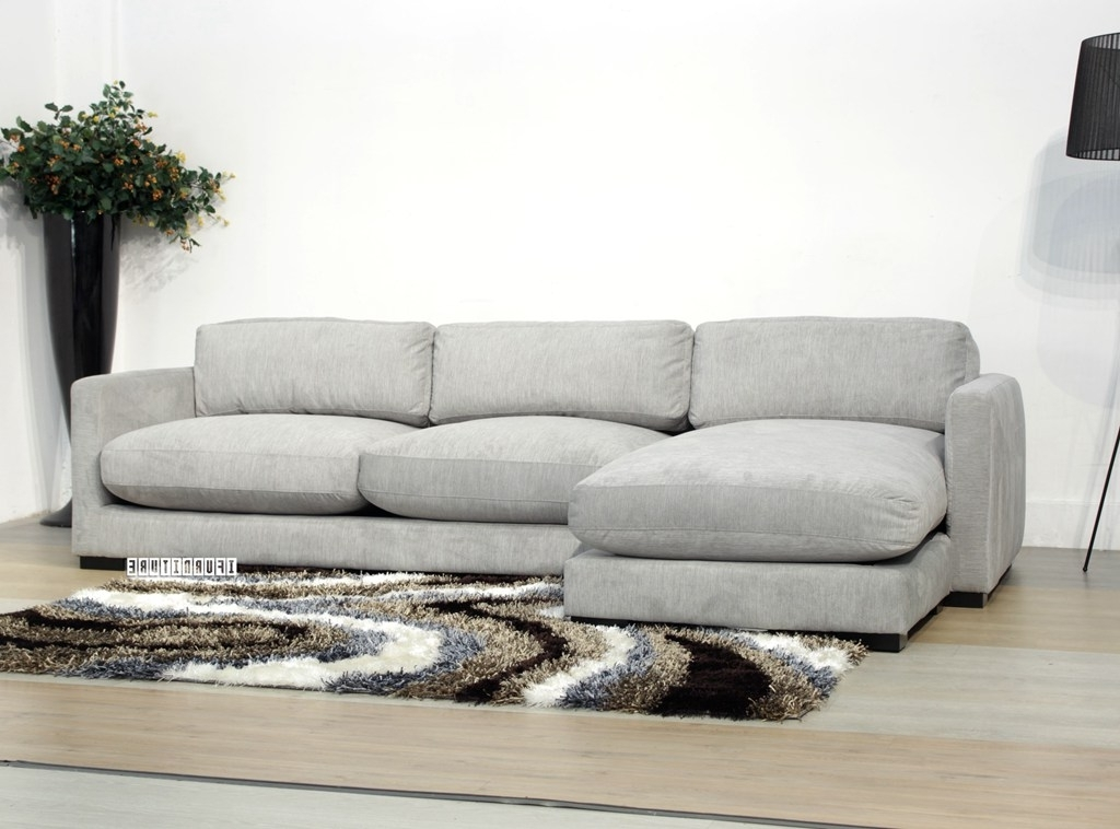 Dove Sectional Sofa *feather Filled , Sofa & Ottoman, Nz's Largest Pertaining To Trendy Nz Sectional Sofas (Gallery 10 of 10)