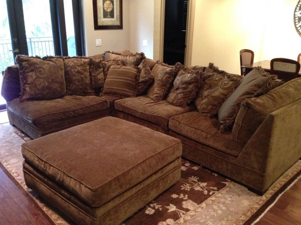 Down Filled Sectional Sofas In Most Recent Sectional Sofa (View 5 of 10)