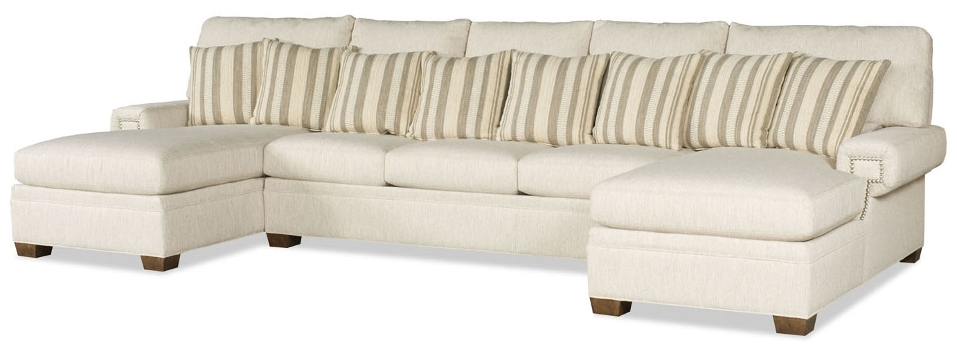 Dual Chaise Sectionals Pertaining To Best And Newest Double Chaise Sofa Sectional – Home Design Ideas And Pictures (Gallery 15 of 15)