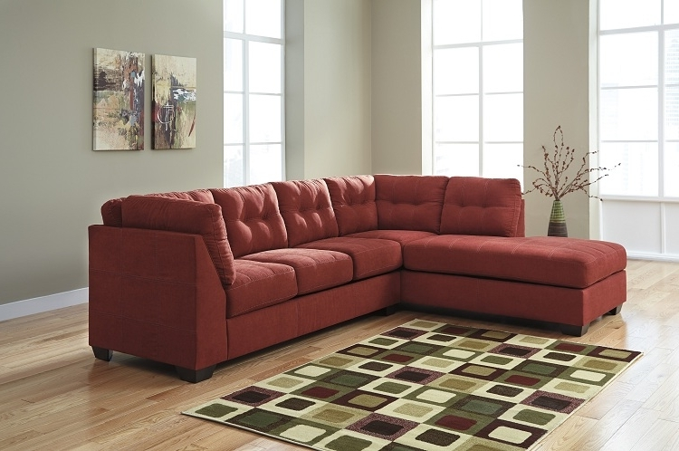 Dufresne Sectional Sofas With Most Popular Jennifer Sienna 2 Piece Sectional #casual #comfort #dufresne (Gallery 1 of 10)