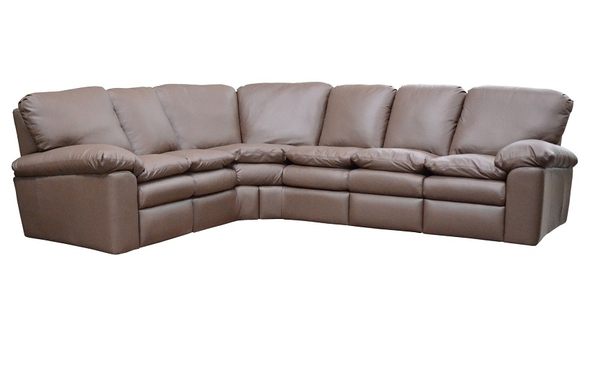 El Dorado Sectional Sofas With Regard To Most Recent Reclining Leather Sectional Sofas : El Dorado Leather Reclining (Gallery 1 of 10)