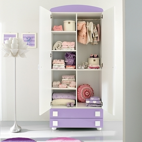 Elegant Baby Wardrobe Furniture Ideas (View 7 of 15)