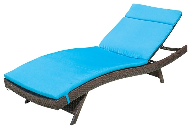 Elegant Outdoor Chaise Lounge Cushion Chaise Lounge Cushions Full Inside 2018 Chaise Lounge Cushions (View 9 of 15)