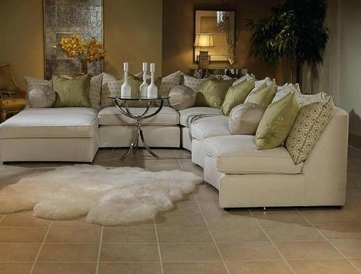 Elegant Sectional Furniture White Elegant Sectional Sofas Set With Throughout Best And Newest Elegant Sectional Sofas (Gallery 4 of 10)