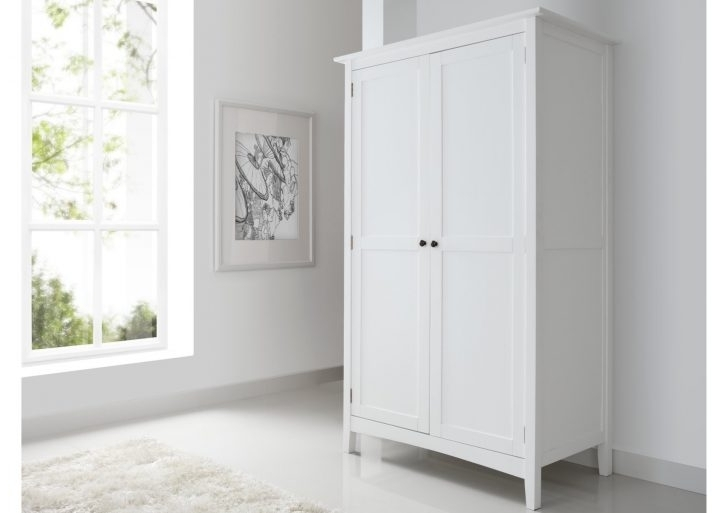 Elegant White Wooden Wardrobes – Buildsimplehome In Most Recently Released White Wood Wardrobes With Drawers (Gallery 12 of 15)