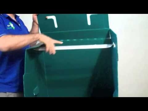 Elf Plastic Moving Boxes: How To Assemble And Use A Wardrobe Box For 2018 Plastic Wardrobes Box (View 15 of 15)