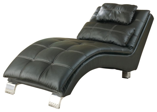 Emerald Home Furnishings – Hutton Ii Chaise Nailhead With Kidney Intended For Current Accent Chaises (View 5 of 15)