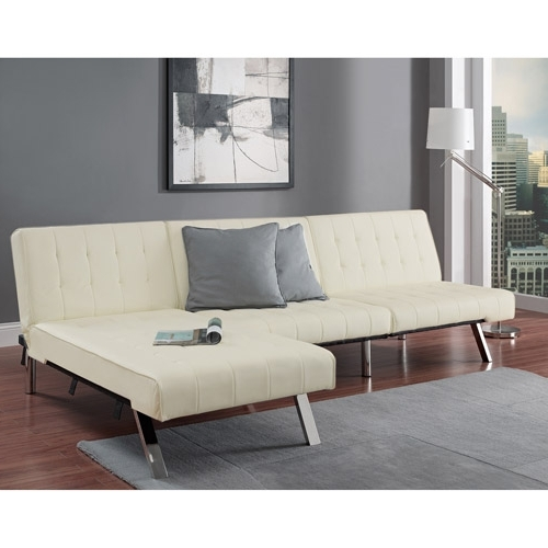 Emily Futon Chaise Lounge – Walmart (View 5 of 15)