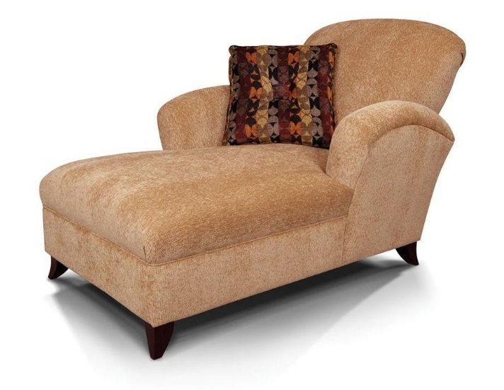 England Furniture Venice Two Arm Chaise Lounge Chair Within 2 Idea Within Latest Chaise Lounge Chairs For Two (Gallery 1 of 15)