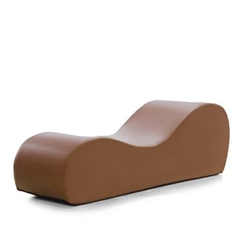 Esse Chaises Regarding Current Amazon: Liberator Esse Chaise, Taupe Faux Leather: Health (Gallery 10 of 36)