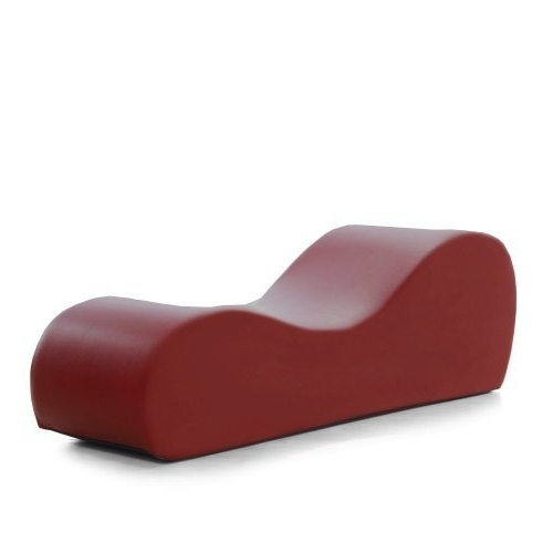 Esse Chaises Within Trendy Liberator Esse Chaise, Claret Faux Leatherliberator. $375.00 (Gallery 9 of 36)