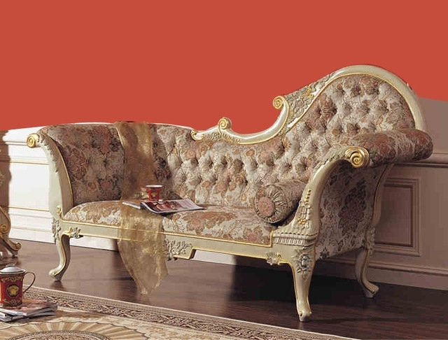 European Chaise Lounge Chairs Inside Preferred 2015 Royal Ltalian Baroque Style Carved Wood Bed European (Gallery 12 of 15)