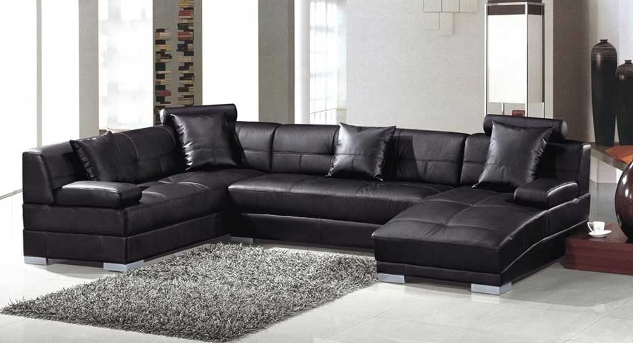 Exist Decor For Leather Couches With Chaise (View 1 of 15)