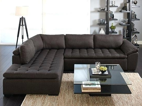 Extra Deep Seated Sectional Sofa With Sofas Chaise With Regard To Most Popular Wide Seat Sectional Sofas (View 1 of 10)