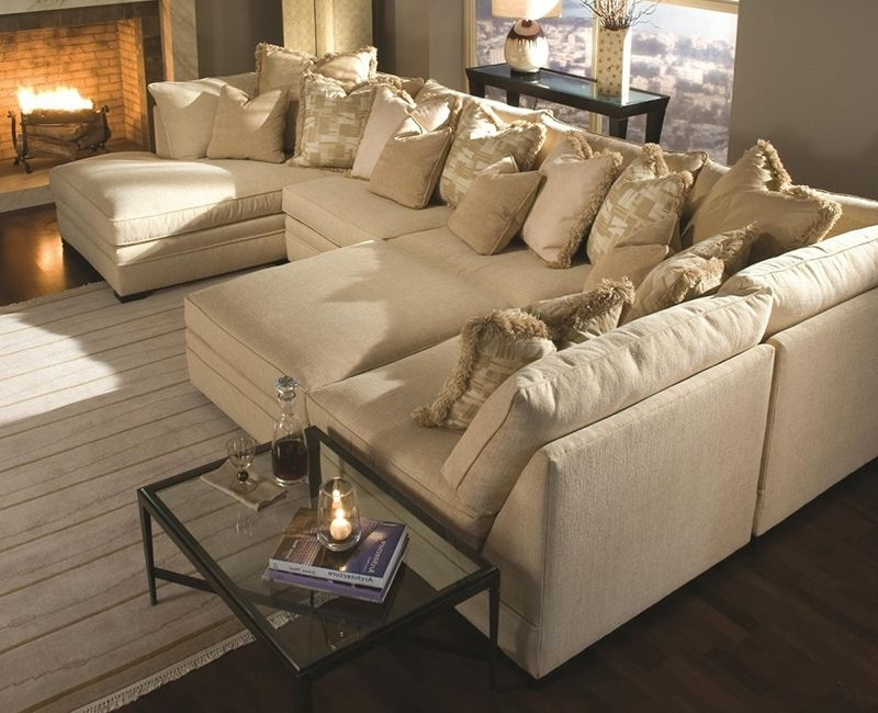 Extra Large Sectional Sofas For Fashionable Extra Large Sectional Sofas With Chaise … (View 3 of 10)