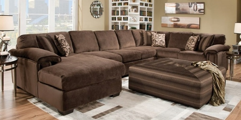 Extra Large Sofas For Preferred Luxury Extra Large Sectional Sofas With Chaise 77 In Modern Sofa (View 1 of 10)
