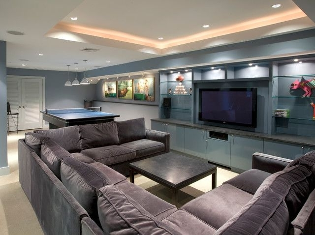 Extra Large U Shaped Sectionals In Preferred Extra Large Sectional Sofas Awesome Brown Leather — The Home (View 9 of 10)