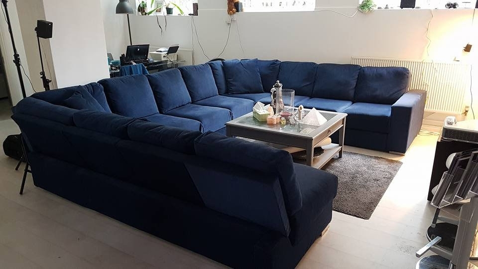 Extra Large U Shaped Sectionals With Regard To Best And Newest Extra Large U Shaped Sofa With Fold Out Double Bed (Seats 11 (Gallery 4 of 10)