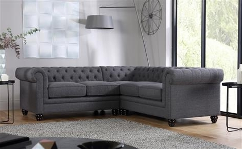 Fabric Corner Sofas – Buy Upholstered Corner Sofas Online With Most Recent Fabric Corner Sofas (View 8 of 10)